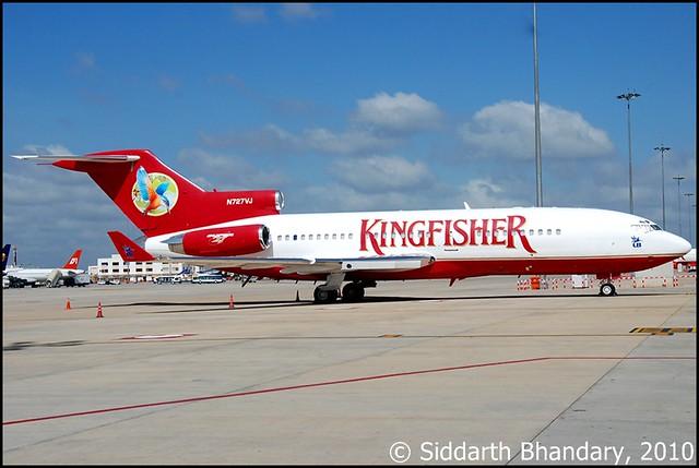 Vijay Mallya's Boeing 727 Private Jet