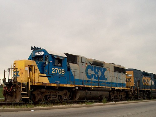 CSX W 16th St local. Cicero Illinois. Sept 2006. by Eddie from Chicago