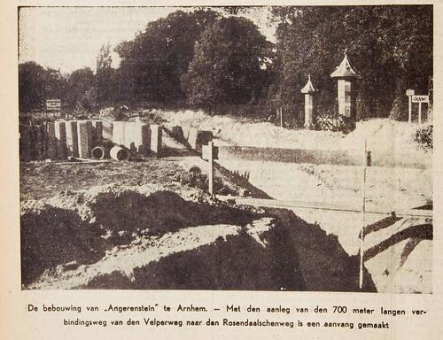 Aanleg Julianalaan in de jaren dertig