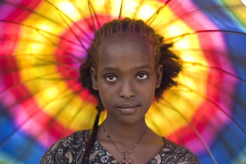 Abaywesh Alemayehu near Gojeb River, Ethiopia por Alfred Weidinger