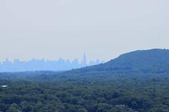 INYC Skyline Behind Mountain