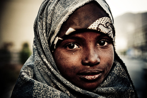 Somali refugee in Yemen