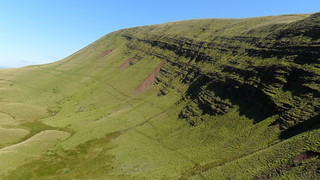 Black Mountain, Fan Brycheiniog, Aug 2010