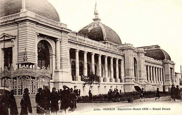 TONKIN - Exposition Hanoï 1902 - Grand Palais