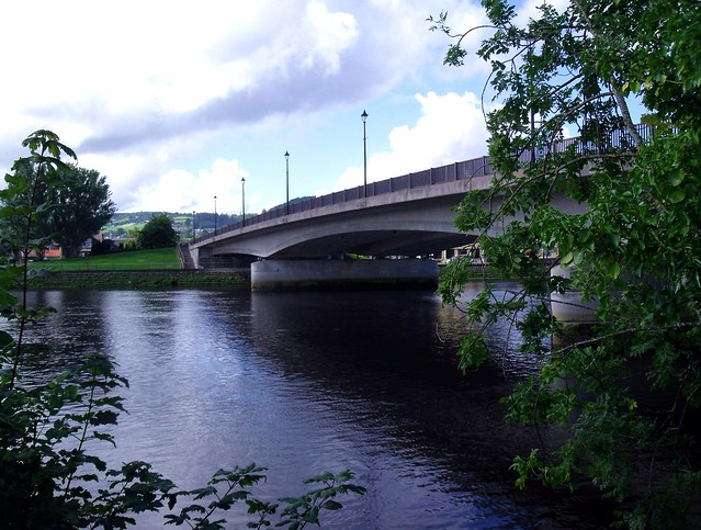 Friars Bridge and River Ness Inverness Scotland