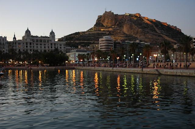 Alicante al atardecer