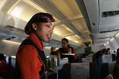 Zambezi Airlines cabin service
