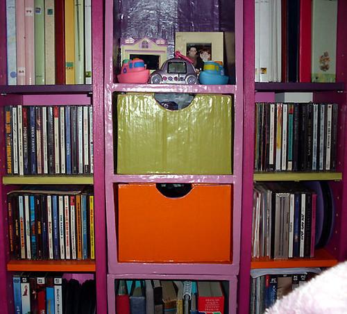 carton et chocolat ikea mini tag res en carton le 2eme tiers. Black Bedroom Furniture Sets. Home Design Ideas