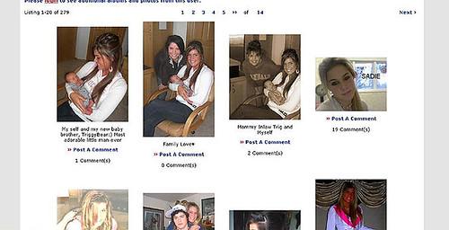 Sadie's myspace page