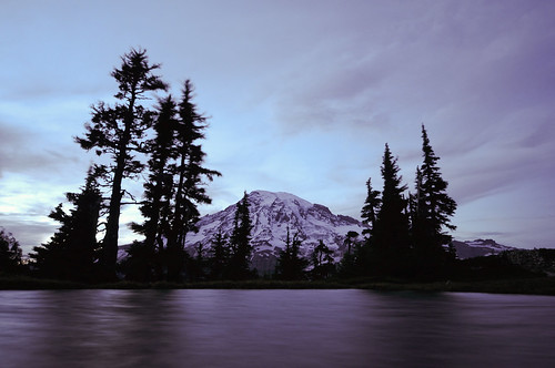 A Night at Mt. Rainier - Part 3 - 8:17pm