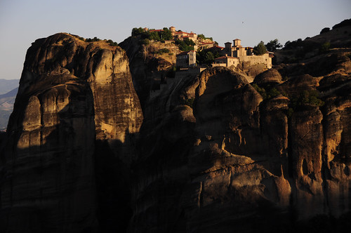 travel sunrise rocks europe cliffs unesco greece monastery worldheritage shah meteora saumil greatmeteoron saumilshah