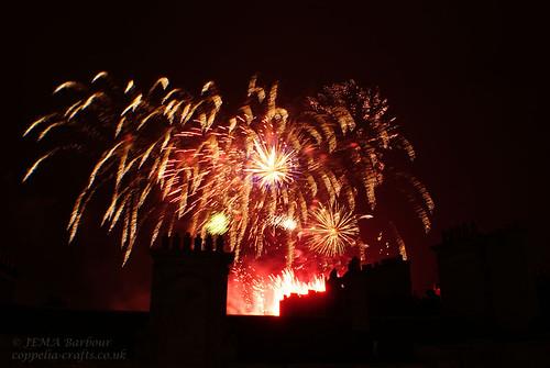 Edinburgh Festival Fireworks 2010