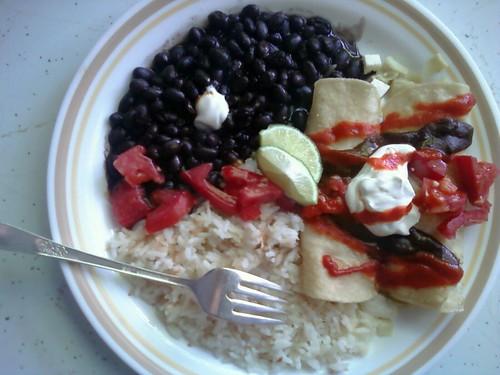 Artichoke & Cotija Enchiladas
