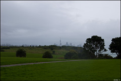 View on Auckland from the Michael Joseph Savage Memorial