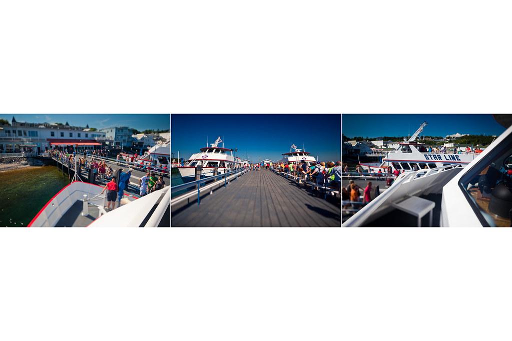 Dockside. Mackinac Island