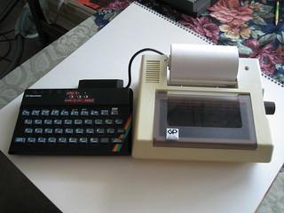 ZX Spectrum mit Drucker, NSA Mitarbeiter ohne Druckerkabel aber mit Millionen Telefonverbindungen 6024