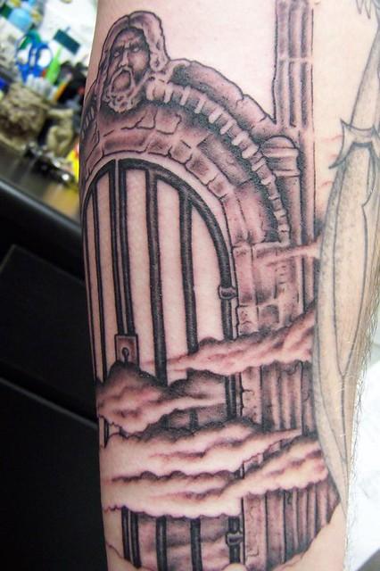 Heaven's Gate Tattoo