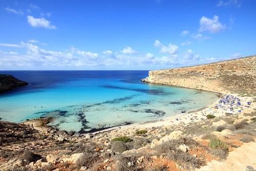 Lampedusa , Spiaggia dei conigli
