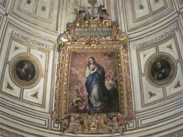 La inmaculada de murillo y la sala capitular de la for Sala 0 teatro sevilla