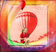 The girl and the red balloon