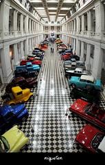 Exposición de autos antiguos en el Dardo Rocha