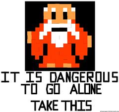 Old Man In Cave Legend Of Zelda All Square Shapes Except Flickr