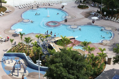 Disney World's Contemporary Resort Pool