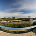 endless bridge panorama - Guthrie Theater - Minneapolis, MN by bergsli photo