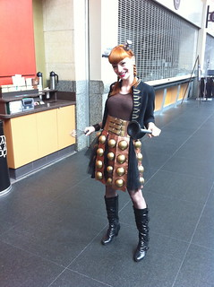 An utterly fantastic Dalek costume