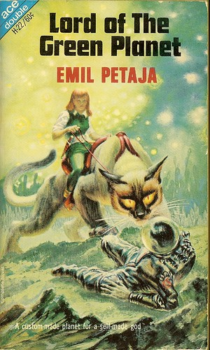 Emil Petaja - Lord of the Green Planet - Ace Double H-022 - cover artist Kelly Freas