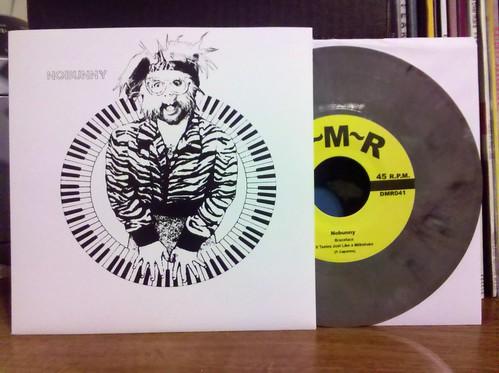 "Nobunny - Braceface 7"" - Gray Vinyl /100"