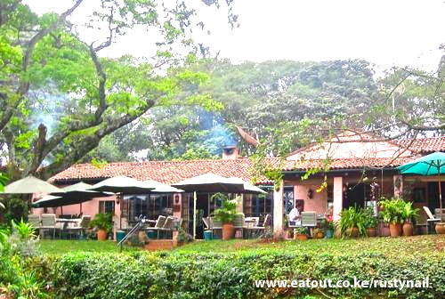 Gardens at rusty nail restaurant karen nairobi flickr for Pool garden restaurant nairobi