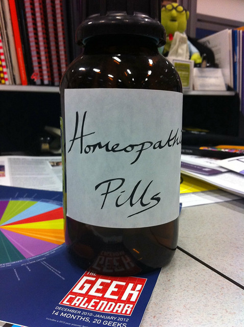 'Homeopathic pill' bottle | Flickr - Photo Sharing!