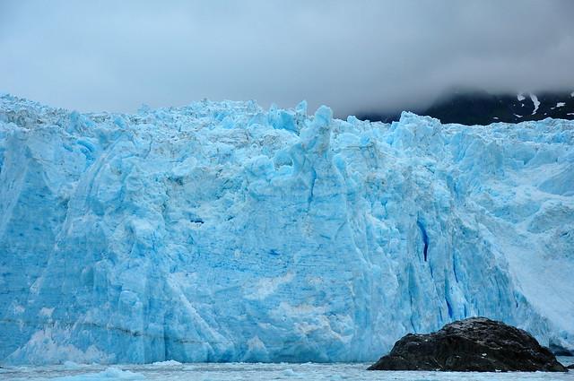 Parque Nacional de los Fiordos de Kenai. Glaciar Aialik. Alaska