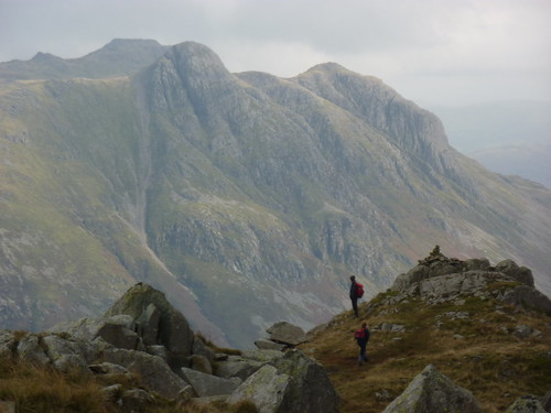 View of Pike of Stickle & Rossett PIke