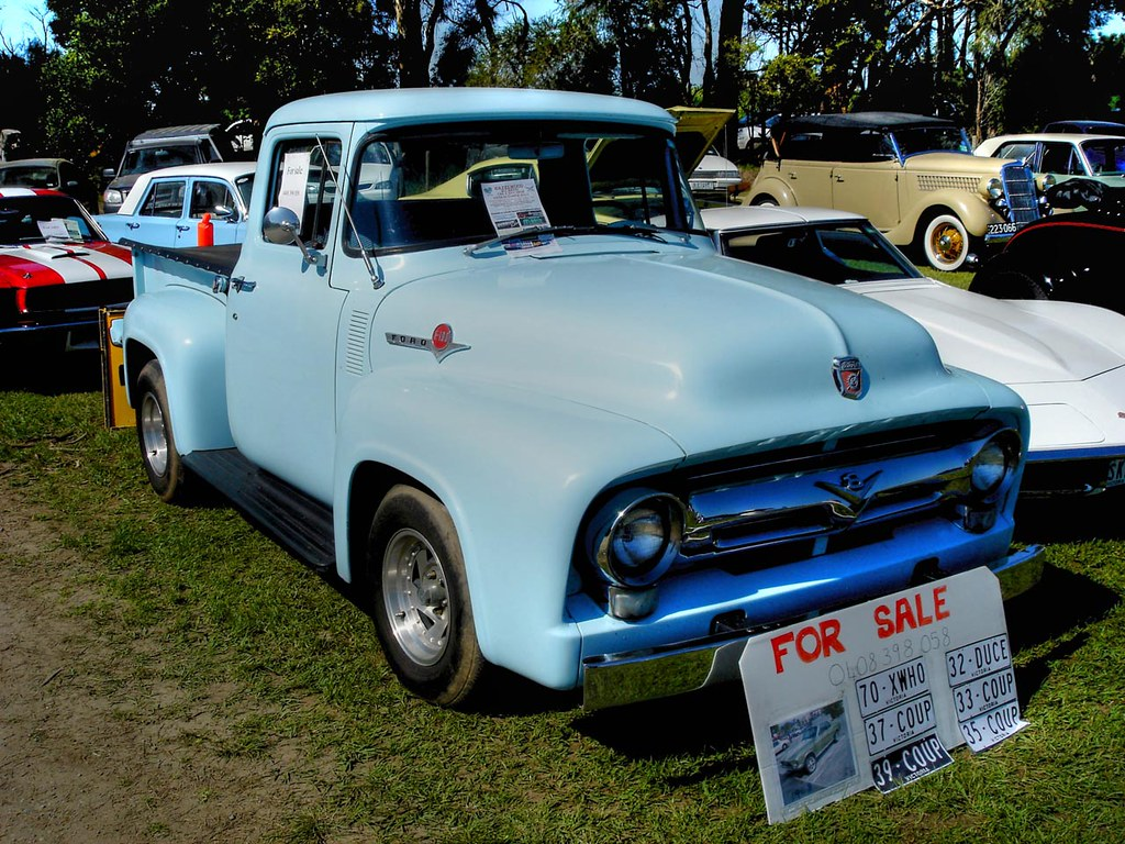 1956 Ford F100 For Sale 1955 Interior Pickup