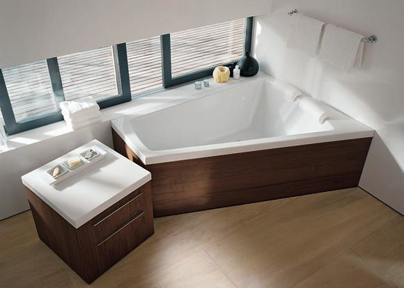 duravit paiova corner tub by eoos flickr photo sharing. Black Bedroom Furniture Sets. Home Design Ideas
