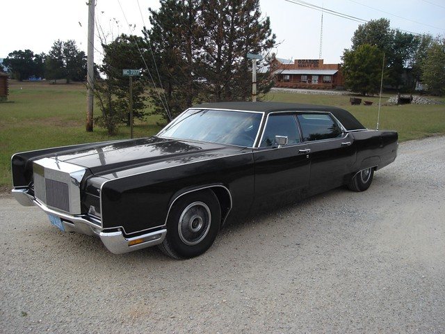1972 Lincoln Continental Andy Hotton Limousine