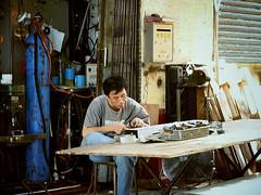 wood, workshop, person,
