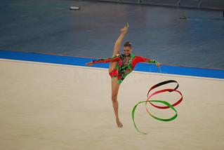 TRIKOMITI Chrystalleni - Rythmic Gymnastics Delhi 2010