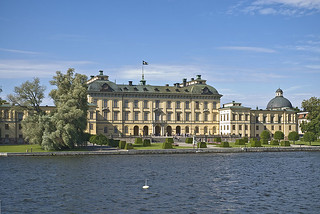 Image of  Drottningholm Palace  near  Drottningholm. swedish palaces drottningholm