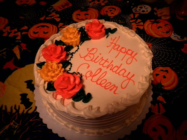 Happy Birthday Cake Colleen
