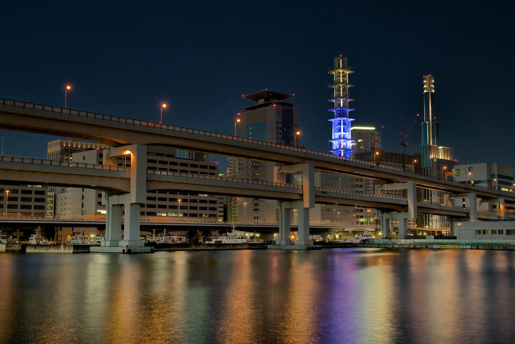 Kobe Bridge and the Docomo Building
