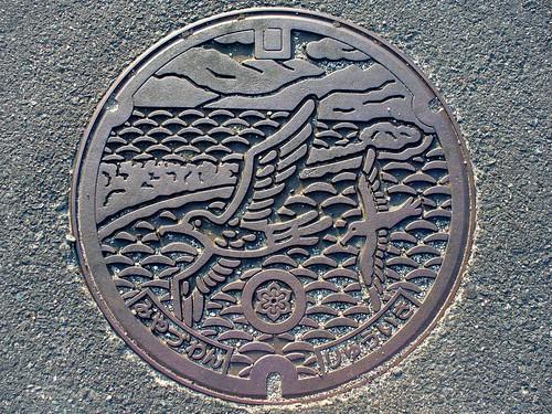 kyoto pref manhole cover(京都府宮津湾流域マンホール)