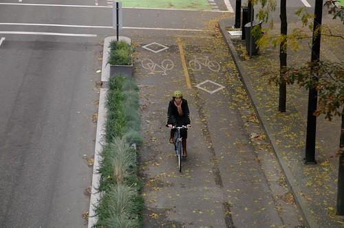 Dunsmuir Separated Bike Lanes 462