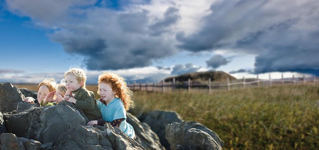 L'Anse aux Meadows Viking Kids