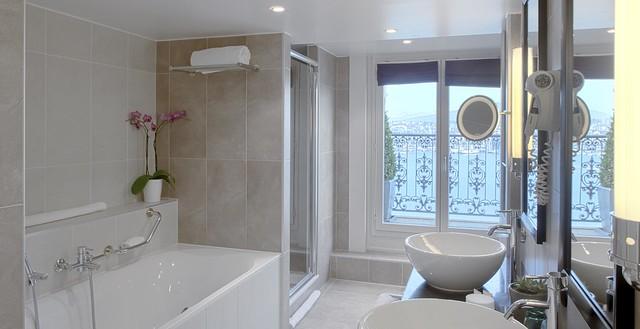 Salle de bain semi ouverte chambre deluxe flickr for Salle de bain ouverte