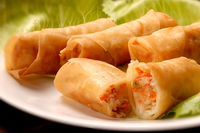 Fried Popia (Deep Fried Spring Rolls) | Flickr - Photo Sharing!