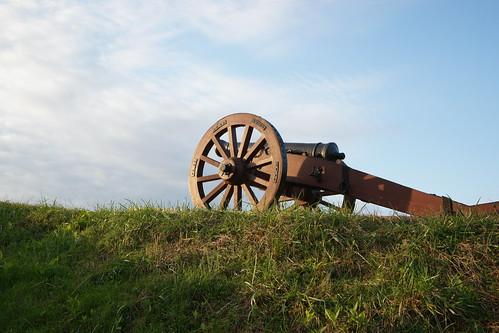 sunrise dawn virginia arms cannon battlefield hamptonroads tidewater