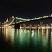 Brooklyn Bridge by Night by s o d a p o p